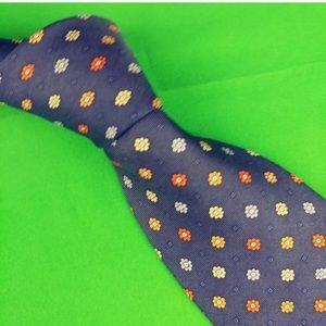 Jones New York Mens Necktie 3.75 X 60 100% Silk